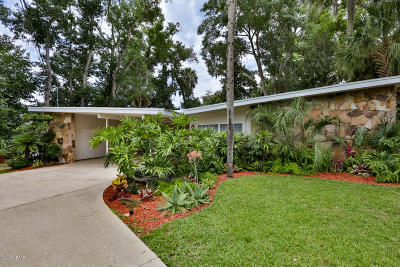 Tomoka Oaks Single Family Home For Sale: 35 N St Andrews Drive