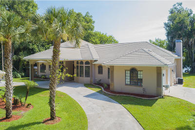 New Smyrna Beach Single Family Home For Sale: 1961 Waterford Estates Drive