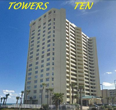 Daytona Beach Shores Condo/Townhouse For Sale: 3425 S Atlantic Avenue #1902