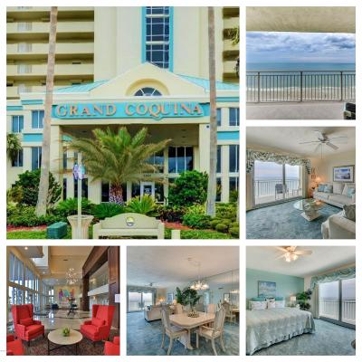 Daytona Beach Shores Condo/Townhouse For Sale: 3333 S Atlantic Avenue #1105