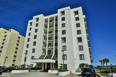 Daytona Beach Shores Condo/Townhouse For Sale: 2615 S Atlantic Avenue #5F