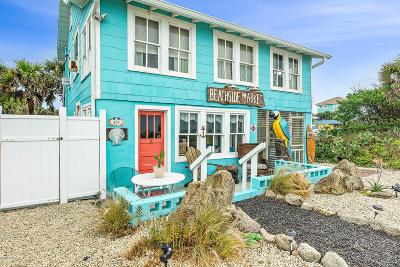 Flagler Beach Single Family Home For Sale: 409 N Ocean Shore Boulevard