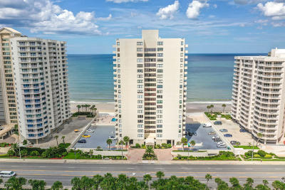 Daytona Beach Shores Condo/Townhouse For Sale: 2947 S Atlantic Avenue #1906