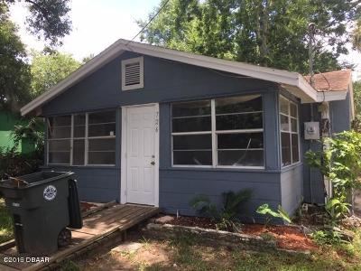 Daytona Beach Single Family Home For Sale: 726 Vera Street