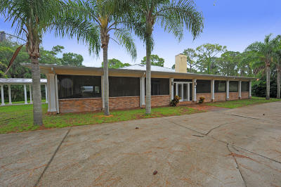 New Smyrna Beach Single Family Home For Sale: 2659 Pioneer Trail