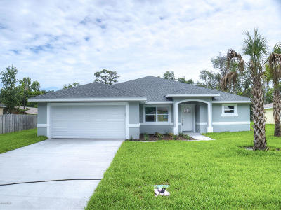 Edgewater Single Family Home For Sale: 2507 Queen Palm Drive