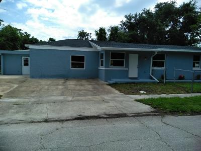 Daytona Beach Single Family Home For Sale: 301 Fletcher Avenue