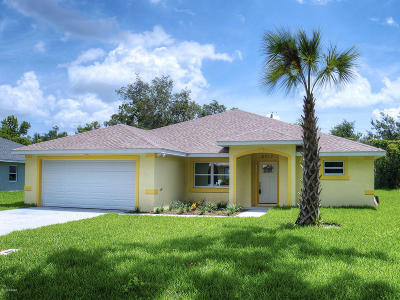 Edgewater Single Family Home For Sale: 2513 Queen Palm Drive