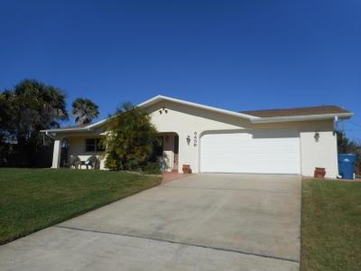 New Smyrna Beach Single Family Home For Sale: 4439 Doris Drive