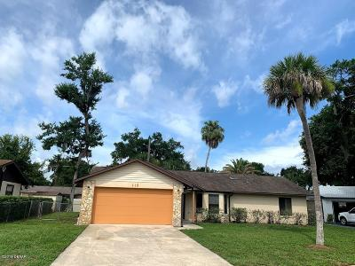Port Orange Single Family Home For Sale: 115 Stratford Square