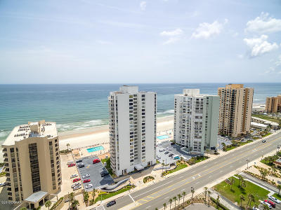 Daytona Beach Shores Condo/Townhouse For Sale: 3043 S Atlantic Avenue #2105 Tow