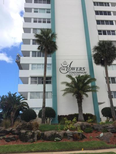 Daytona Beach Condo/Townhouse For Sale: 2800 N Atlantic Avenue #1407