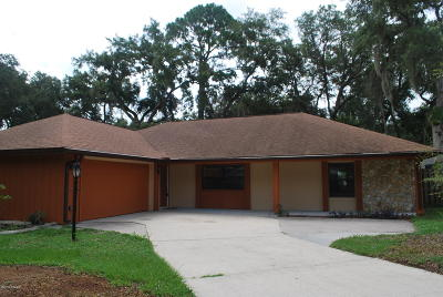 Port Orange Single Family Home For Sale: 6102 Del Mar Drive