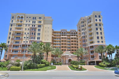 Daytona Beach Shores Condo/Townhouse For Sale: 2515 S Atlantic Avenue #607