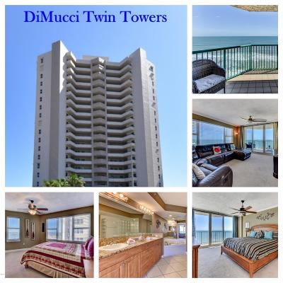 Daytona Beach Shores Condo/Townhouse For Sale: 3315 S Atlantic Avenue #1705