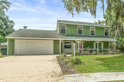 Port Orange Single Family Home For Sale: 351 Sagewood Drive