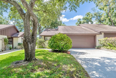 Ormond Beach Attached For Sale: 6 Lake Trail