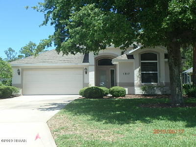 Volusia County Rental For Rent: 1217 Crown Pointe Lane
