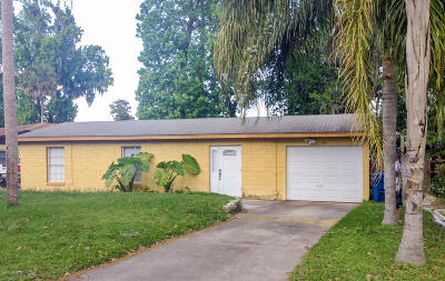 Daytona Beach Single Family Home For Sale: 1151 Buena Vista Drive
