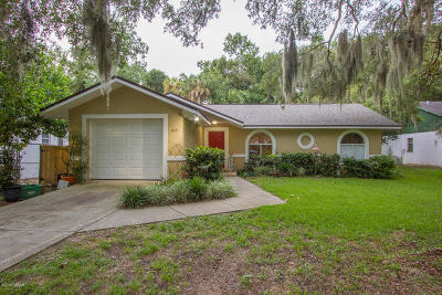 Holly Hill Single Family Home For Sale: 1415 Old Kings Road