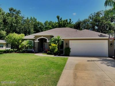 Ormond Beach Single Family Home For Sale: 23 Waterbluff Drive
