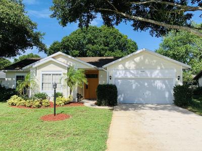 Port Orange Single Family Home For Sale: 4660 Hidden Lake Drive