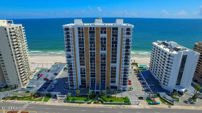 Daytona Beach Shores Condo/Townhouse For Sale: 3003 S Atlantic Avenue #5A2