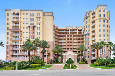 Daytona Beach Shores Condo/Townhouse For Sale: 2515 S Atlantic Avenue #706