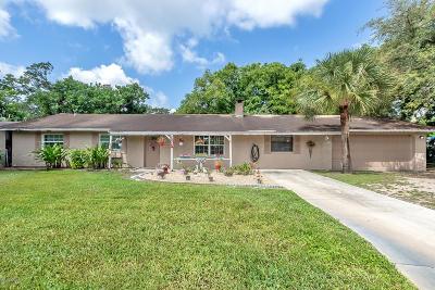 Holly Hill Single Family Home For Sale: 1502 Granada Avenue