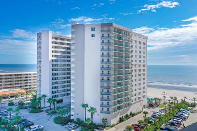 Daytona Beach Shores Condo/Townhouse For Sale: 2055 S Atlantic Avenue #607