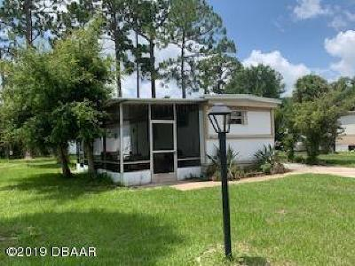 Port Orange FL Single Family Home For Sale: $59,900