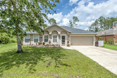 Palm Coast Single Family Home For Sale: 3 Llobell Place