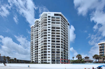 Daytona Beach Shores Condo/Townhouse For Sale: 2425 S Atlantic Avenue #2010