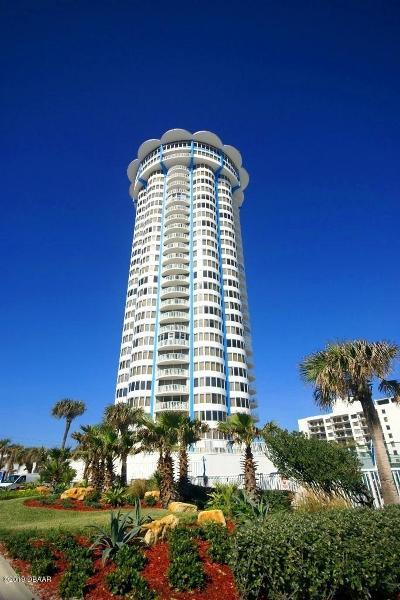 Daytona Beach Shores Condo/Townhouse For Sale: 2625 S Atlantic Avenue #6NW