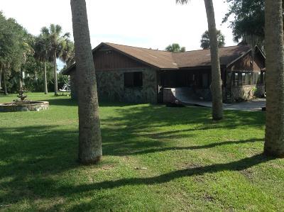Flagler Beach Single Family Home For Sale: 1620 S Flagler Avenue