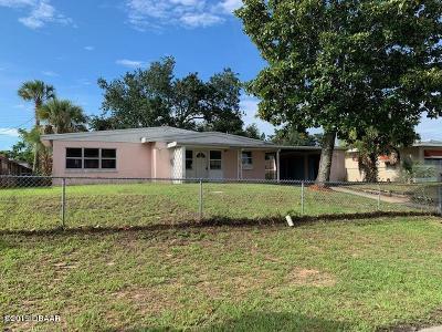 Daytona Beach Single Family Home For Sale: 1327 Eugene Black Street