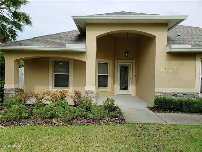 Ormond Beach FL Single Family Home For Sale: $287,000