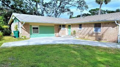 Holly Hill Single Family Home For Sale: 1100 Riverside Drive