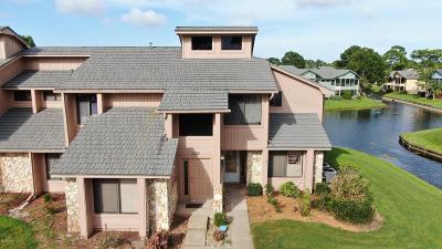 Daytona Beach Attached For Sale: 118 Blue Heron Drive #B