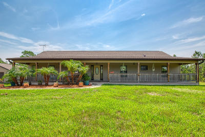 Ormond Beach Single Family Home For Sale: 100 Carter Trail