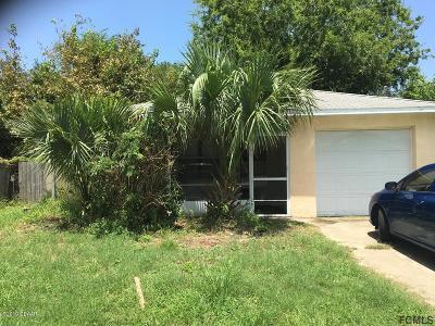 Daytona Beach Single Family Home For Sale: 517 Fulton Street
