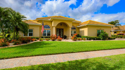 New Smyrna Beach Single Family Home For Sale: 3534 Tuscany Reserve Boulevard