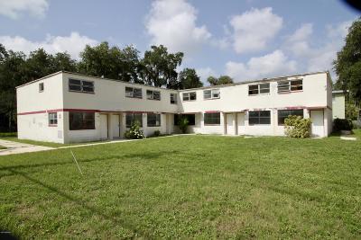 Daytona Beach Multi Family Home For Sale: 706 S Martin Luther King Boulevard