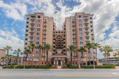 Daytona Beach Shores Condo/Townhouse For Sale: 3245 S Atlantic Avenue #604