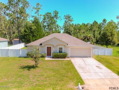 Palm Coast Single Family Home For Sale: 32 Slumber Meadow Trail