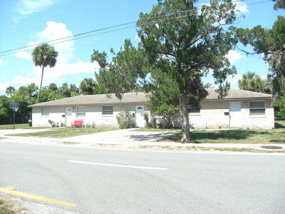 Port Orange Multi Family Home For Sale: 609 Orange Avenue