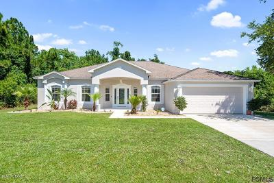 Palm Coast Single Family Home For Sale: 9 Bickford Drive