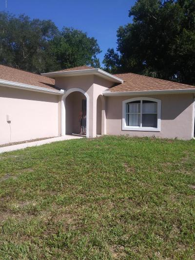 Holly Hill Rental For Rent: 1050 6th Street