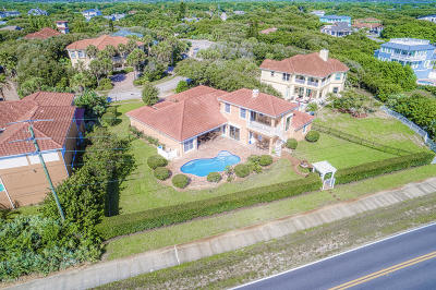 Ponce Inlet, South Daytona, Wilbur-by-the-sea Single Family Home For Sale: 32 Coastal Oaks Circle