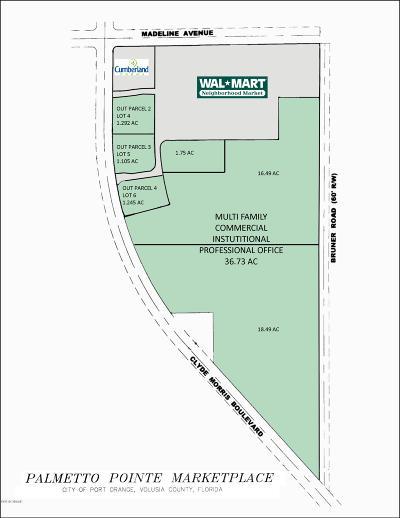 Port Orange Residential Lots & Land For Sale: 3835 Clyde Morris Boulevard